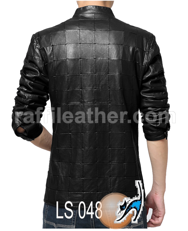 Jaket Kulit Slim Fit LS 048