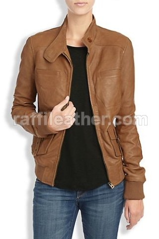 460+ Model Jaket Kulit Perempuan Terbaik